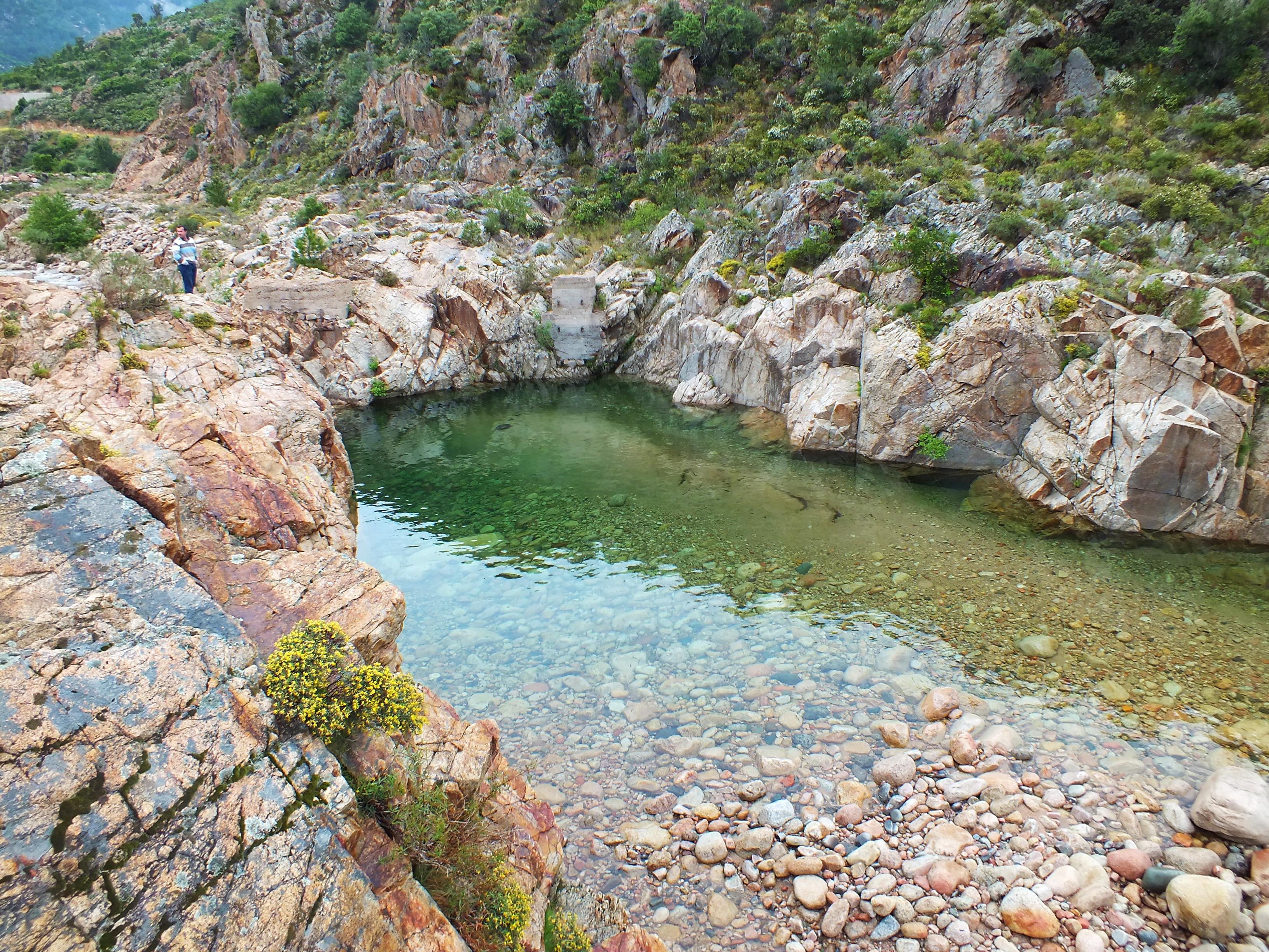Visite des campings homair en corse homair le blog - Piscine naturelle corse ...