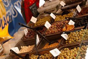 marché aux olives et aux epices