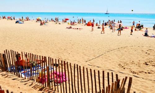 dunes et soleil - marseillan