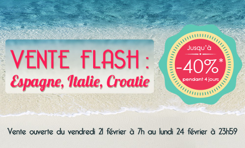 vente flash homair