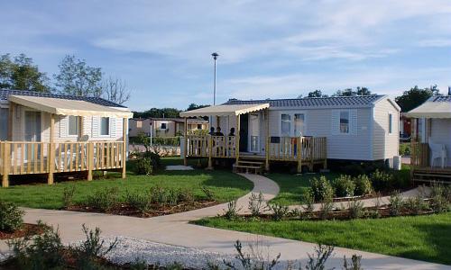 Les logements du camping