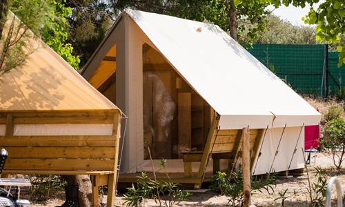 lodge du camping marseillan