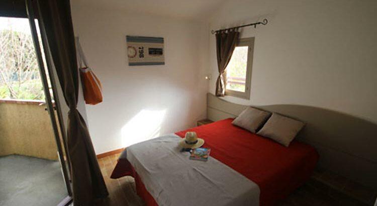 Chambre de mobil-home à Saint Tropez
