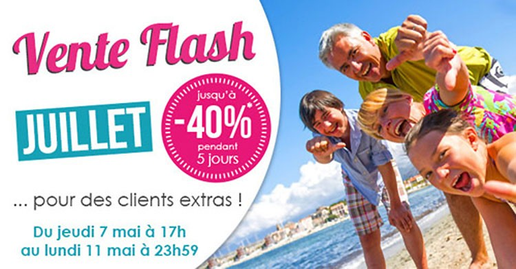 Ventes flash de Homair