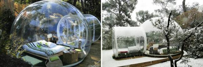 Tente bulle attrape-rêve