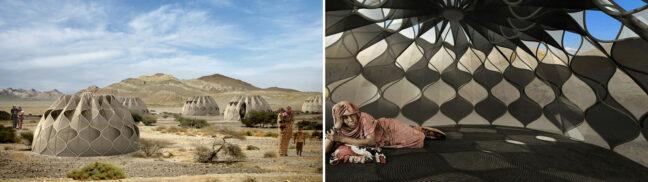 Tente pour le désert