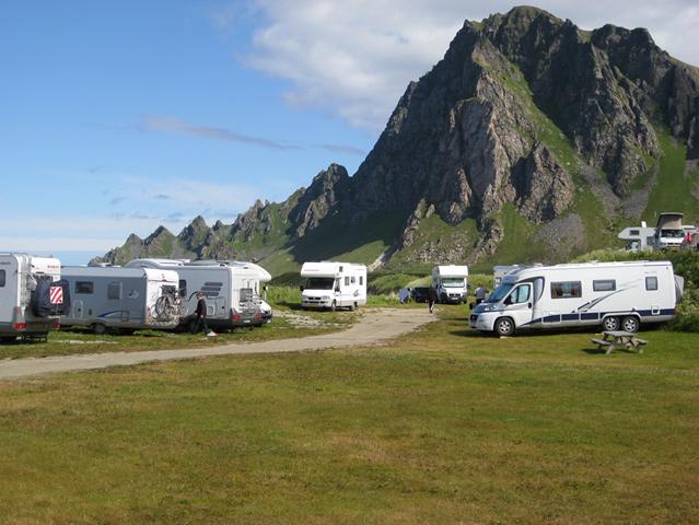 Camper en scandinavie