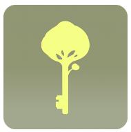 Logo clés de la Fôrêt