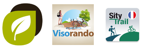 Logos Two Nav, Visorando, Sity Trail