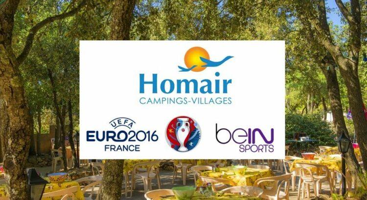 Euro 2016 : les campings Homair