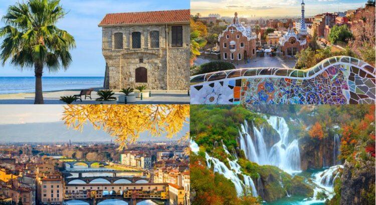 Top destinations en Europe en septembre et octobre