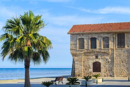 Château médieval à Larnaca, Chypre