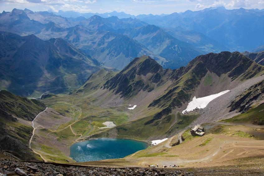 Lac d'Oncet Pic du Midi France