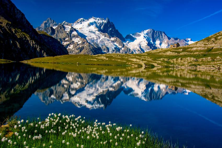 La Meije dans les Alpes