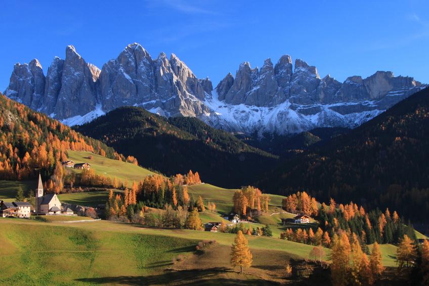 Val di Funes Dolomites Italie