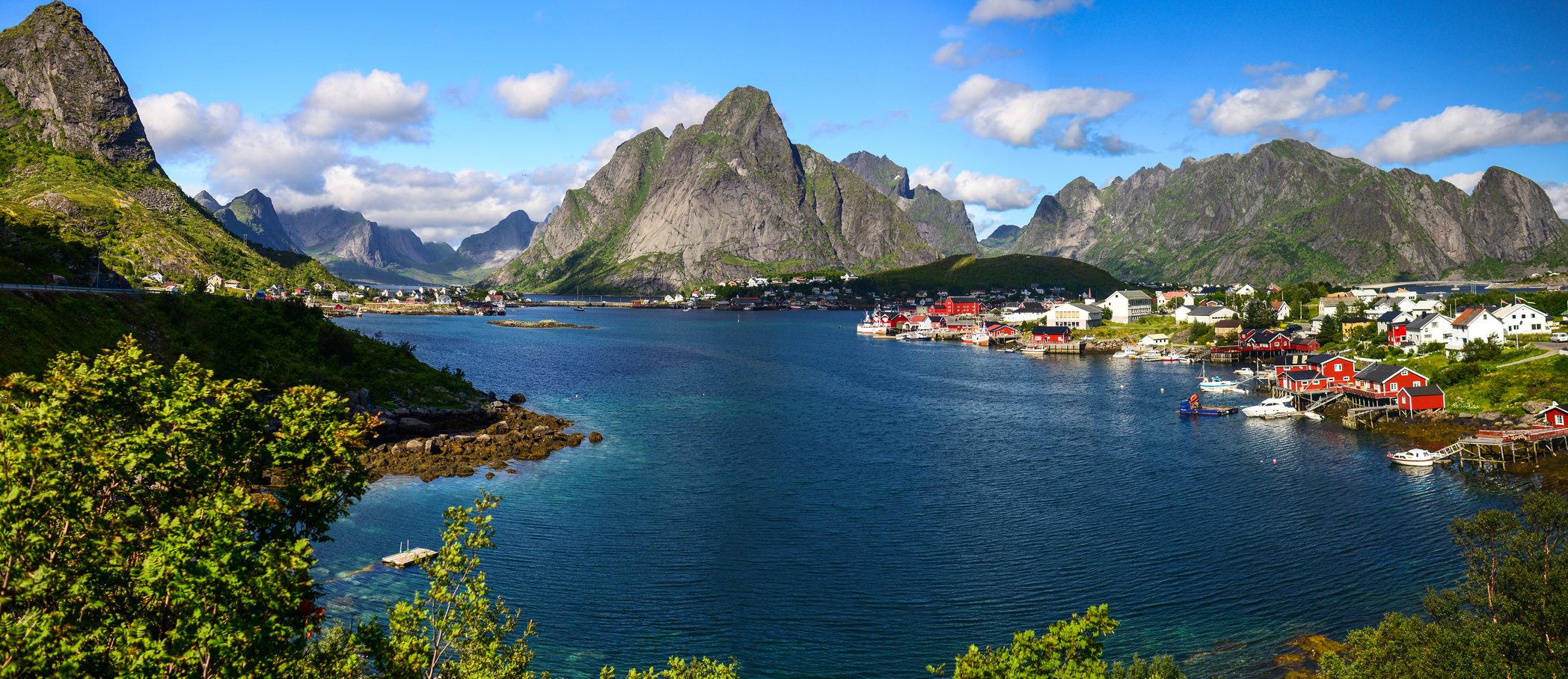 Paysage Lofoten en Norvège