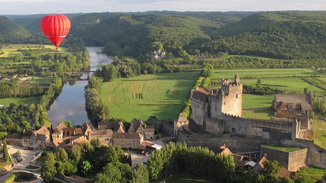 Vue vallée de la Dordogne - ©L.Druet