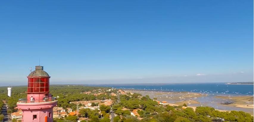 Vue du Phare du Cap Ferret - Arcachon
