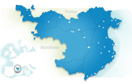 Carte Costa Brava - ©Costabrava.org