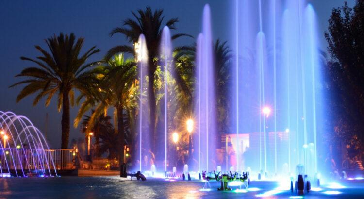 Fontaines lumineuses Salou