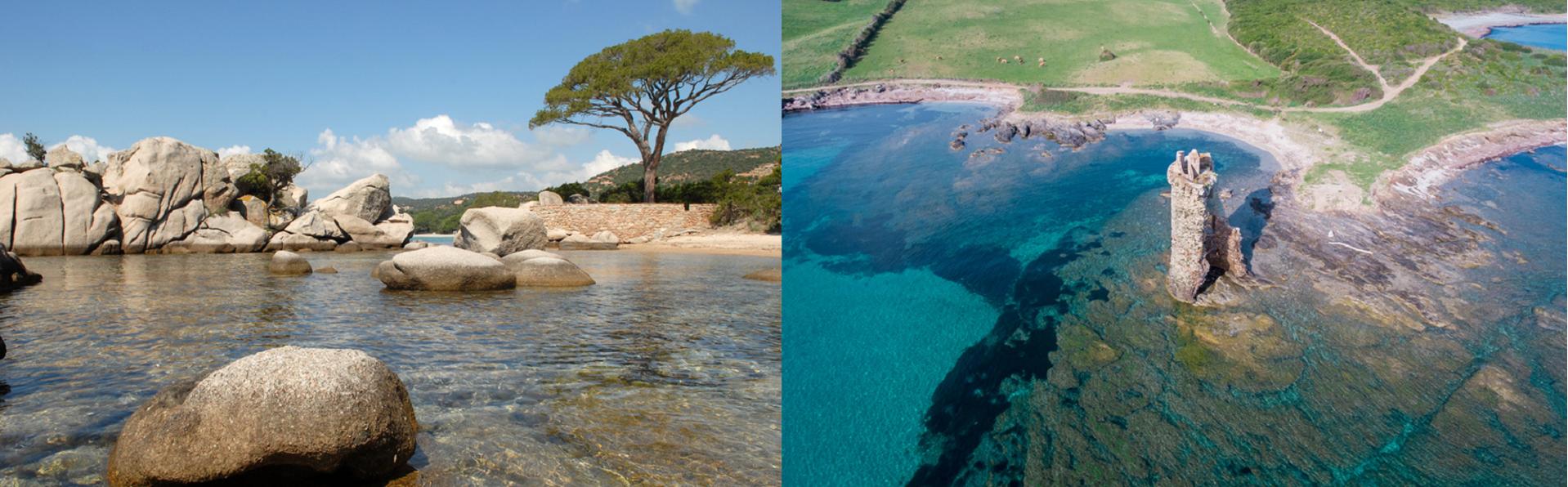 Plage de Palombaggia et Cap Corse