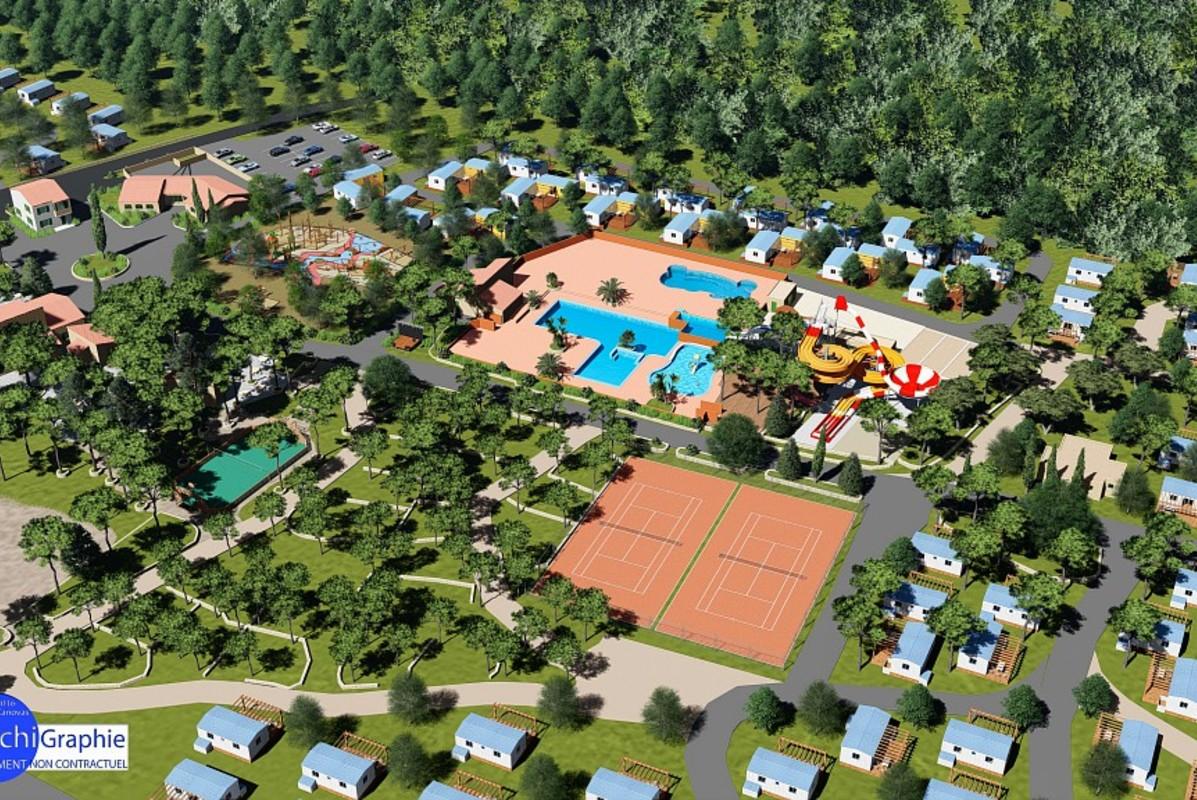 piscine camping lac du verdon - Camping Dans Le Verdon Avec Piscine