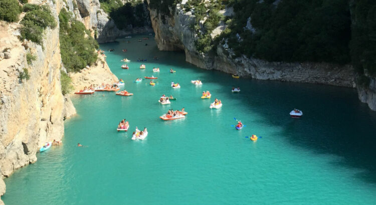 Kayak Gorges du Verdon