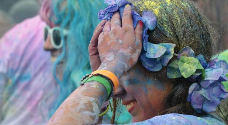 Color Run course fun