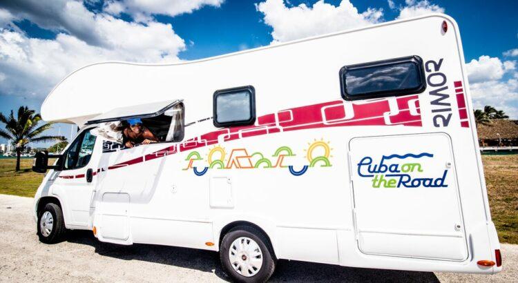 un camping-car à Cuba