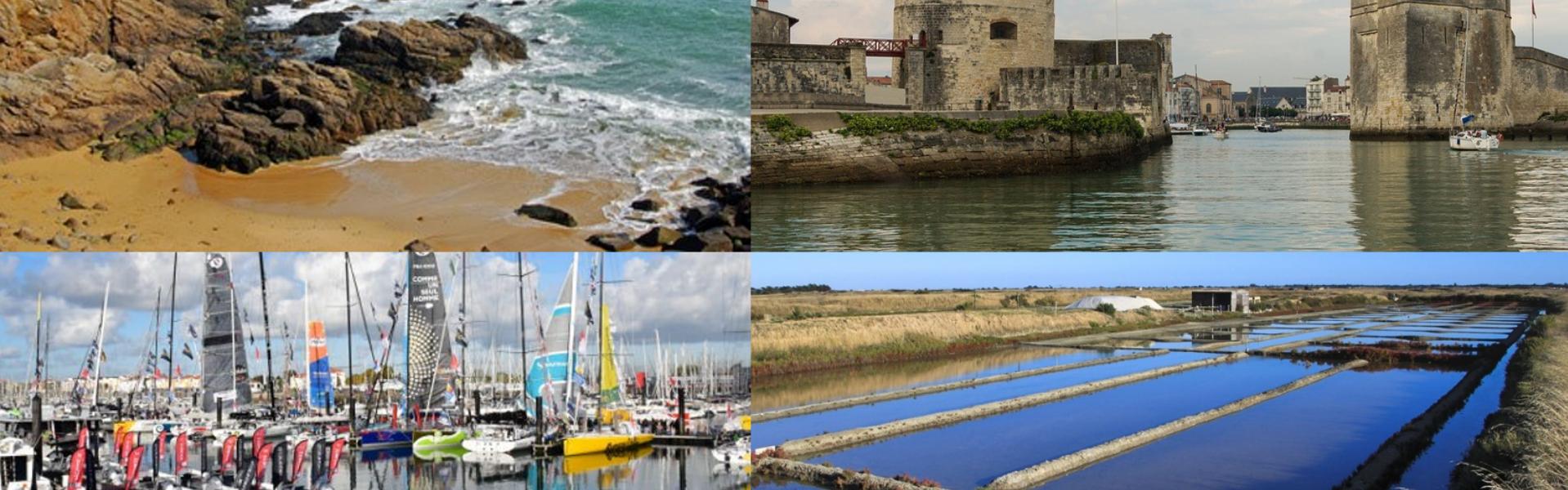 Lieux touristiques en Vendée