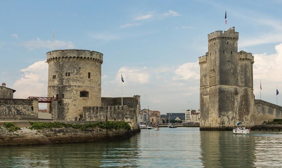 Vieux port historique de La Rochelle