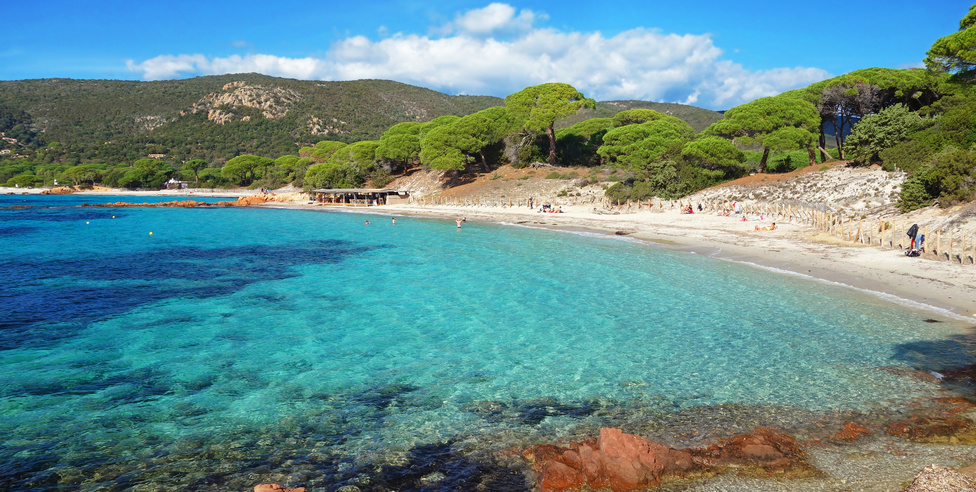 Plage Palombaggia Corse